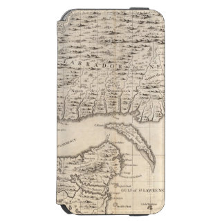 A Map of the British Empire in America Sheet 3 iPhone 6/6s Wallet Case