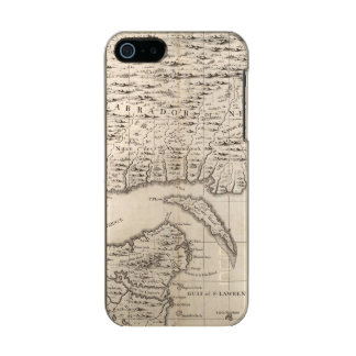 A Map of the British Empire in America Sheet 3 Metallic iPhone SE/5/5s Case