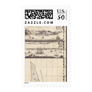 A Map of the British Empire in America Sheet 4 Postage