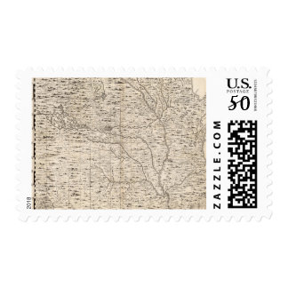 A Map of the British Empire in America Sheet 5 Postage