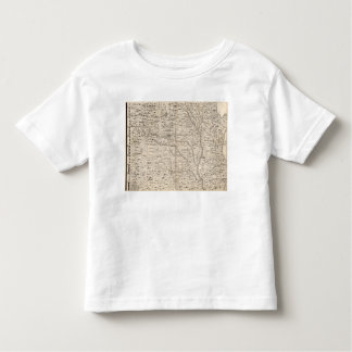 A Map of the British Empire in America Sheet 5 Toddler T-shirt