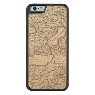 A Map of the British Empire in America Sheet 6 Carved® Maple iPhone 6 Bumper Case