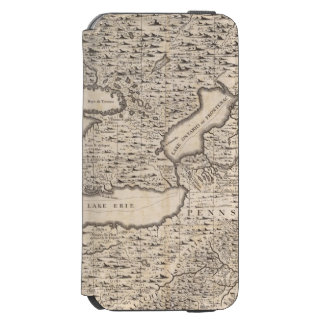 A Map of the British Empire in America Sheet 6 iPhone 6/6s Wallet Case
