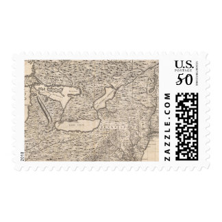 A Map of the British Empire in America Sheet 6 Postage
