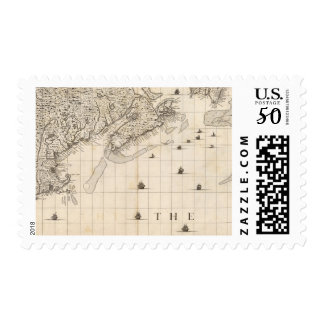 A Map of the British Empire in America Sheet 7 Postage