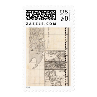A Map of the British Empire in America Sheet 8 Postage