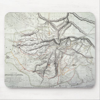 A Map of the Kingdom of Kabul Mouse Pad