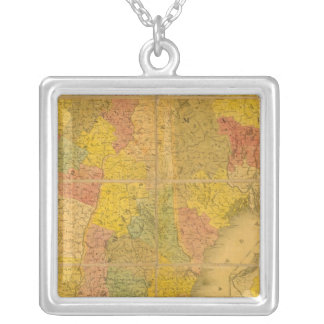 A Map of the New England States Custom Jewelry
