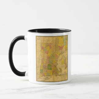 A Map of the New England States Mug