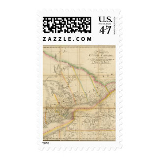 A Map of the Province of Upper Canada Postage