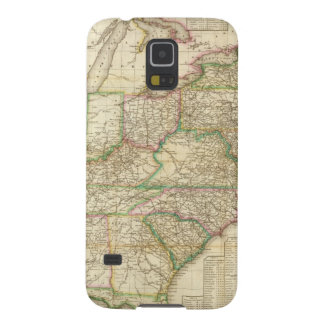 A Map Of The Roads, Canals And Steam Boat Case For Galaxy S5