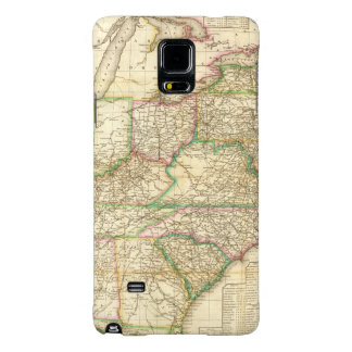 A Map Of The Roads, Canals And Steam Boat Galaxy Note 4 Case