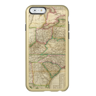 A Map Of The Roads, Canals And Steam Boat Incipio Feather® Shine iPhone 6 Case