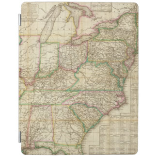 A Map Of The Roads, Canals And Steam Boat iPad Smart Cover
