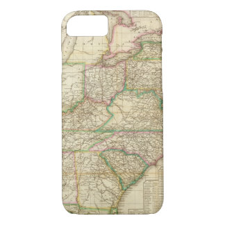 A Map Of The Roads, Canals And Steam Boat iPhone 7 Case