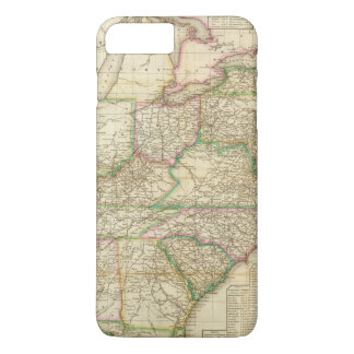 A Map Of The Roads, Canals And Steam Boat iPhone 7 Plus Case
