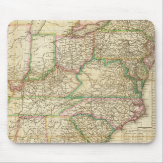 A Map Of The Roads, Canals And Steam Boat Mouse Pad