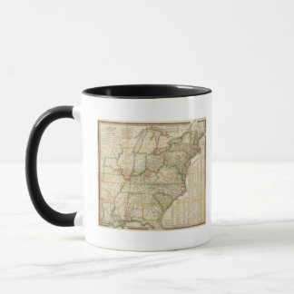 A Map Of The Roads, Canals And Steam Boat Mug