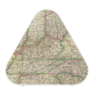 A Map Of The Roads, Canals And Steam Boat Speaker