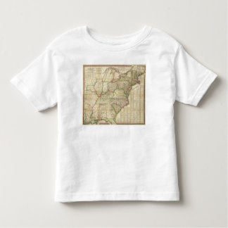 A Map Of The Roads, Canals And Steam Boat Toddler T-shirt
