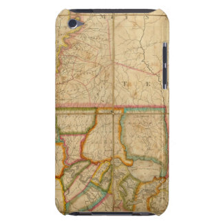 A Map of the State of Louisiana iPod Case-Mate Case