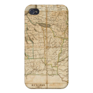 A Map of the State Of New York iPhone 4/4S Covers