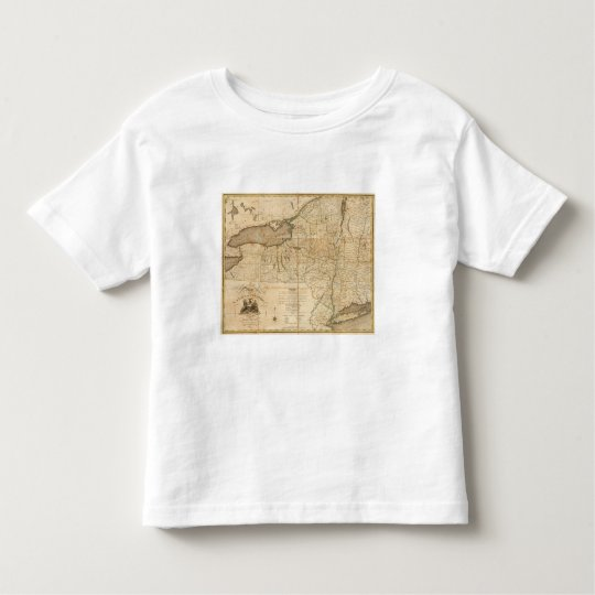 A Map of the State Of New York Toddler T-shirt