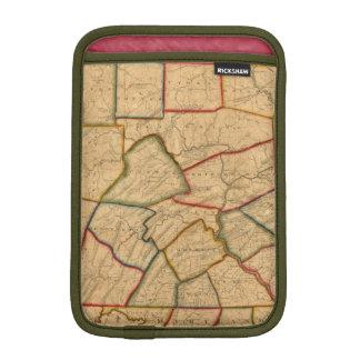 A Map Of The State Of Pennsylvania iPad Mini Sleeve
