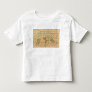 A Map of The State of Pennsylvania Toddler T-shirt