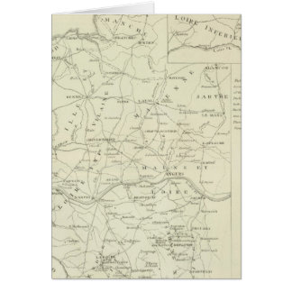 A Map of the Vendee Cards
