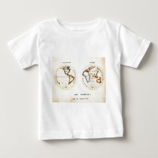 A Map of the World  Amy Baldwin sc.jpg Baby T-Shirt