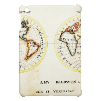 A Map of the World  Amy Baldwin sc.jpg iPad Mini Cases