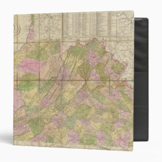 A Map of Virginia Binder