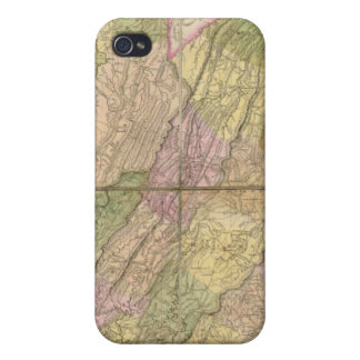 A Map of Virginia Cases For iPhone 4