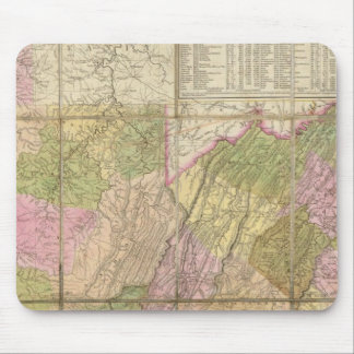 A Map of Virginia Mouse Pad