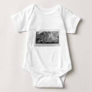 A marble plaque with the inscription: Roman Baby Bodysuit