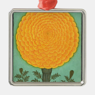 A Marigold, from the Small Clive Album (w/c on pap Metal Ornament