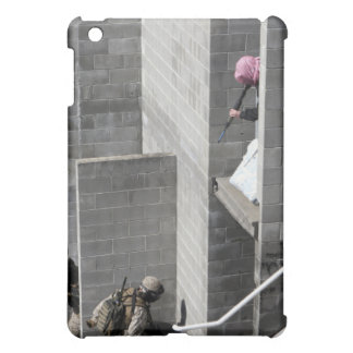 A Marine and role-playing enemy aggressor iPad Mini Cover