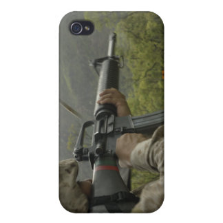 A Marine conducts drills Cases For iPhone 4