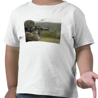 A Marine conducts drills T Shirt