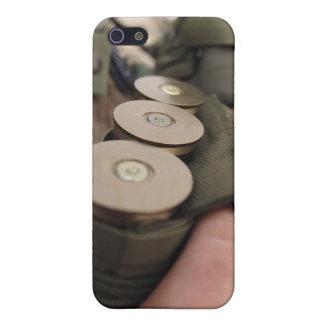 A Marine cradles handfuls of 40 mm grenades iPhone SE/5/5s Case