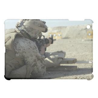 A Marine fires a M16A2 service rifle iPad Mini Cover