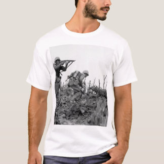 A Marine of the 1st Marine Division _War Image T-Shirt