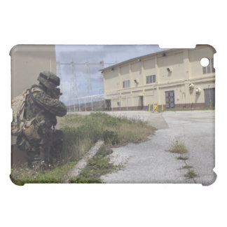A Marine posts security Cover For The iPad Mini