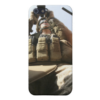 A marine rocks his M-2 50-caliber machine gun iPhone SE/5/5s Cover