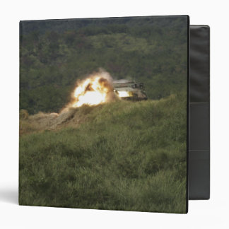 A Marine scores a direct hit 3 Ring Binder
