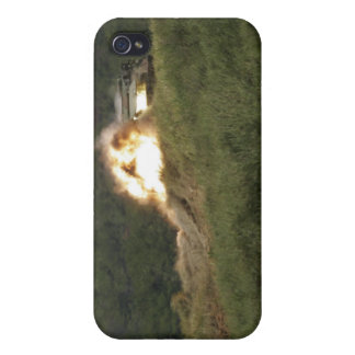 A Marine scores a direct hit iPhone 4/4S Cover