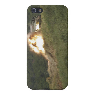 A Marine scores a direct hit iPhone 5 Cover