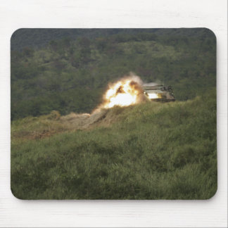 A Marine scores a direct hit Mouse Pad