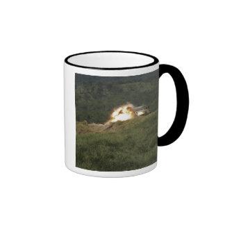 A Marine scores a direct hit Ringer Coffee Mug